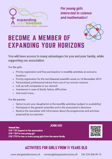EYH 2019 Become a member
